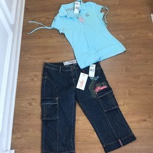 Enyce Bundle Outfit Set Pants Size 9 Top Size M